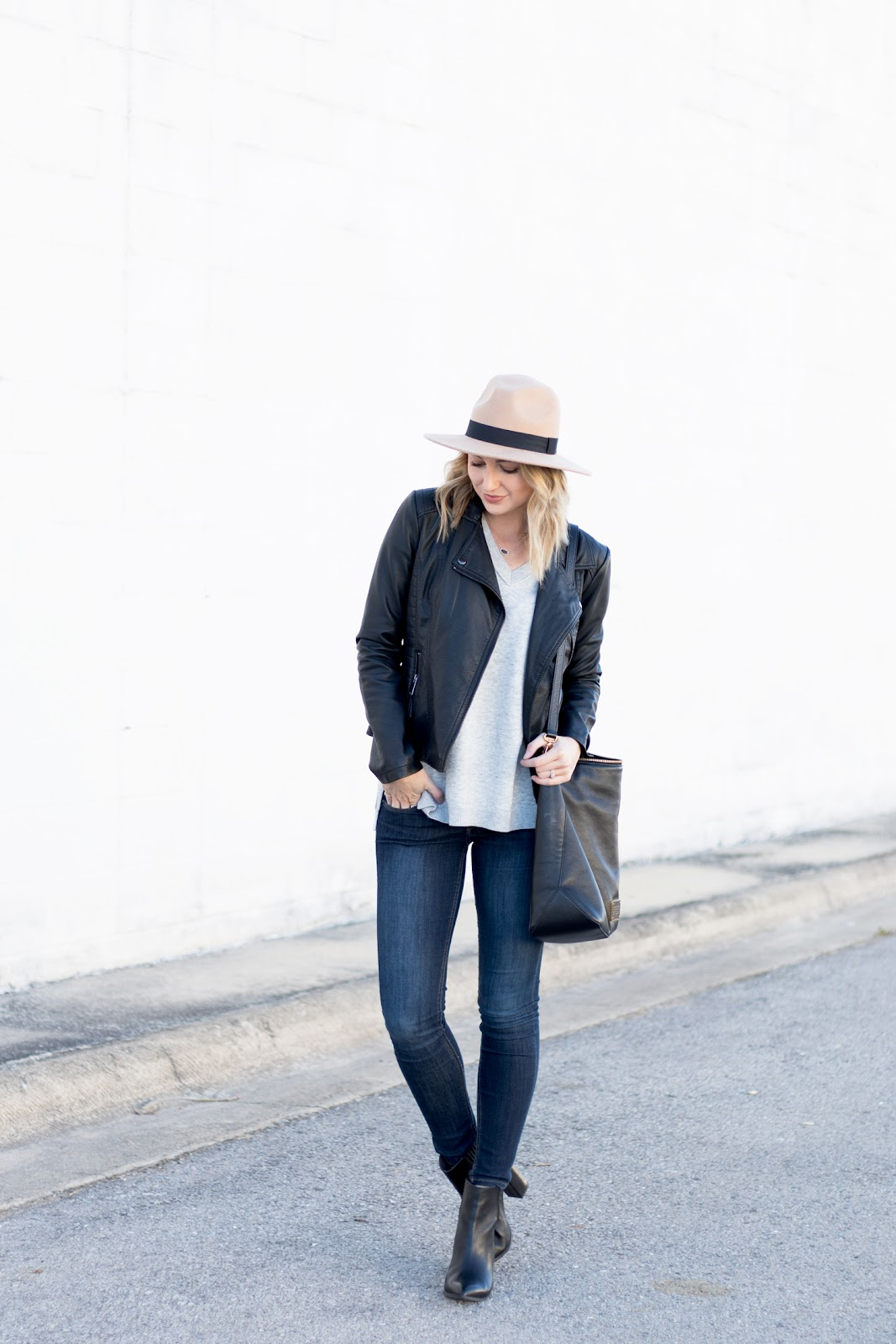Neutral fall/winter outfit