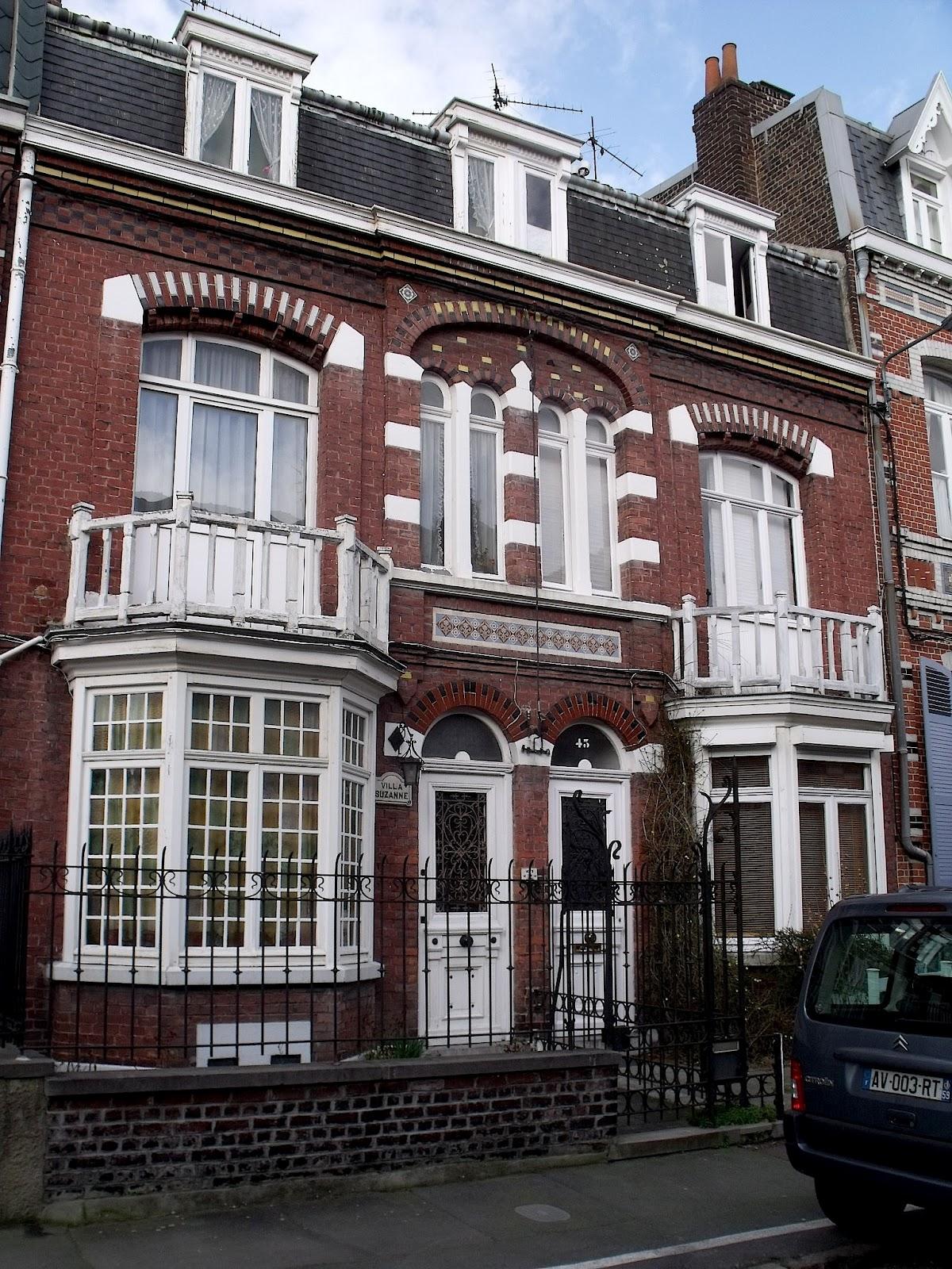 Art nouveau et jugendstil courants artistiques et for Bow window maison