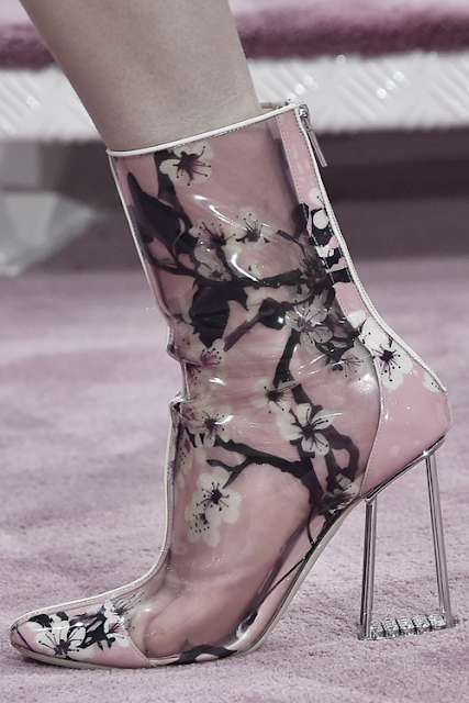 Christian Dior Haute Couture, Spring-Summer 2015 shoe detail