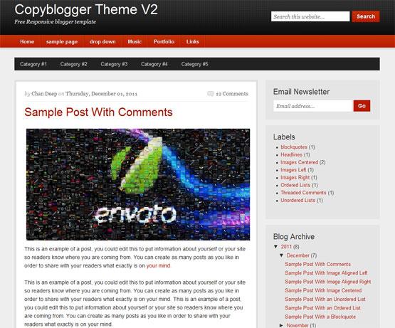 copyblogger responsive blogger template
