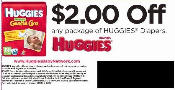 Huggies coupons printable august 2018
