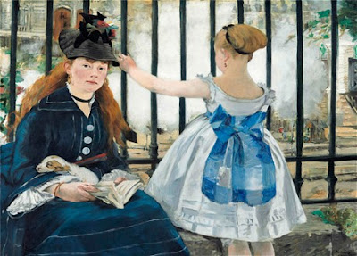 Edouard Manet - The raylway, 1873