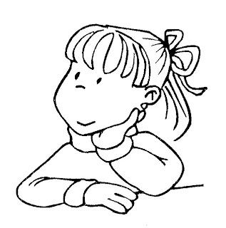 Ninos en caricatura pensando - Imagui