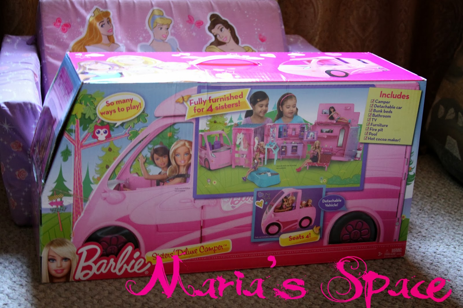 Maria S Space Christmas Gift Idea Barbie And Sisters Pony Tales