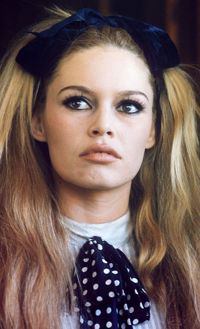 Vintage Style Inspiration: Five Party Makeup Looks Brigitte Bardot