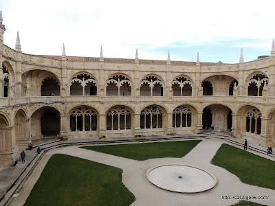 Mosteiro dos Jerónimos - Claustro