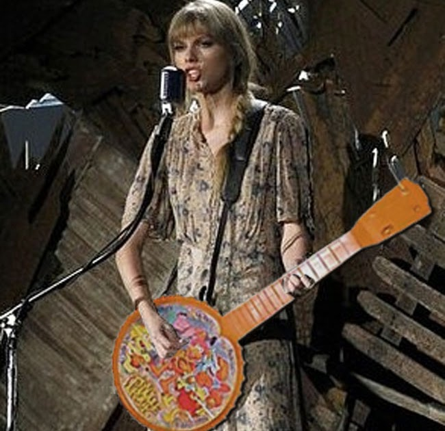 Banjo banjo chords mean taylor swift : Farce the Music: Taylor Swift's Grammy Banjo Playing