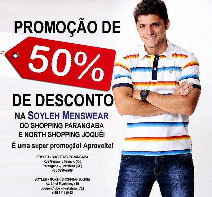 Promoção de 50%