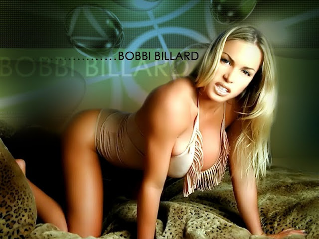 Bobbi Billard sexy in lingerie