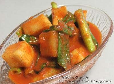Korean Radish Kimchi – (kkak ttugi / ggak du gi)