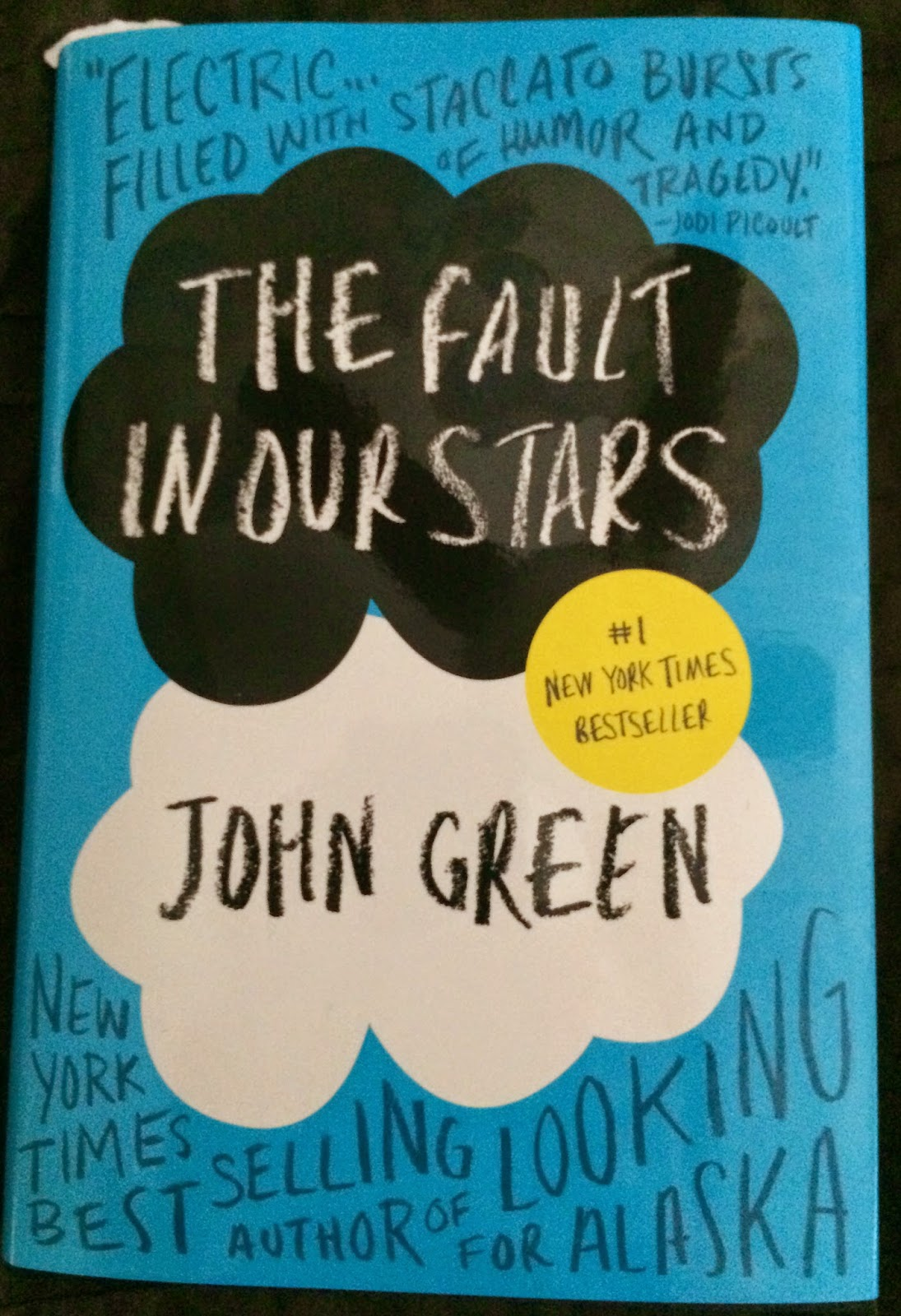 my bookshelf the fault in our stars by john green book