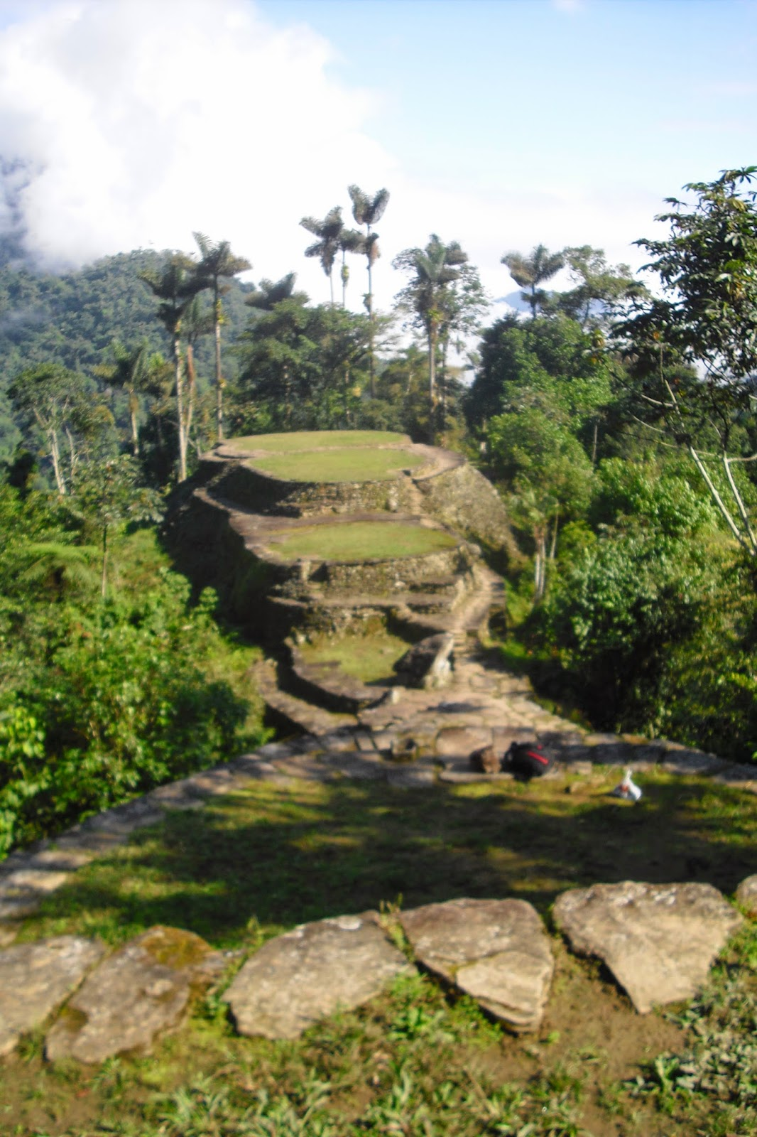 Colombia's La Ciudad Perdida, The Lost City. Next we need to find 'Postlandia'...