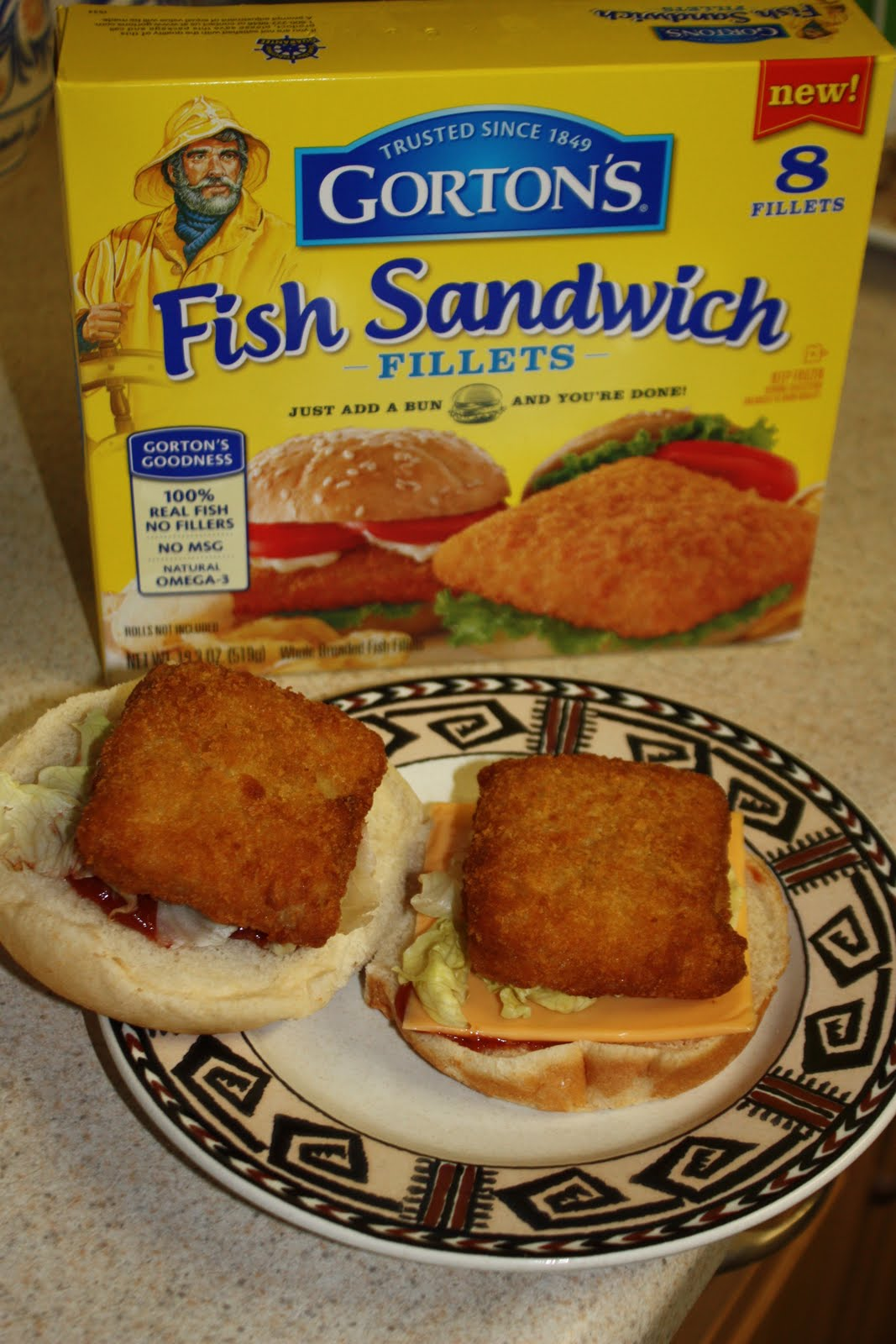Food adventures of a comfort cook a tale of two fish for Gortons fish sticks