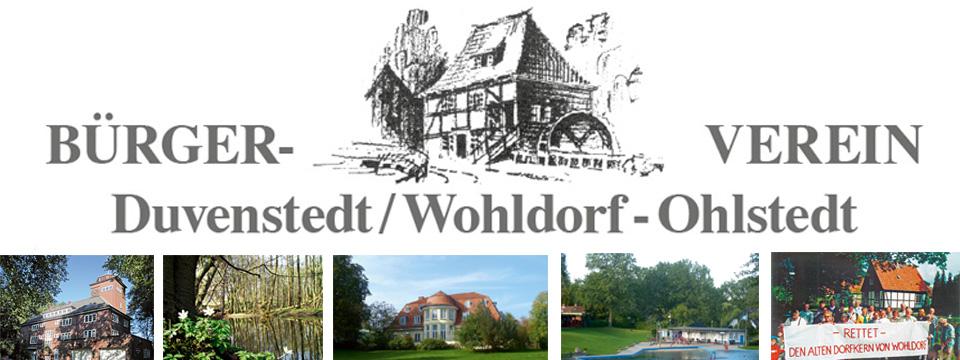 Bürgerverein Duvenstedt / Wohldorf-Ohlstedt: Infos, aktuell