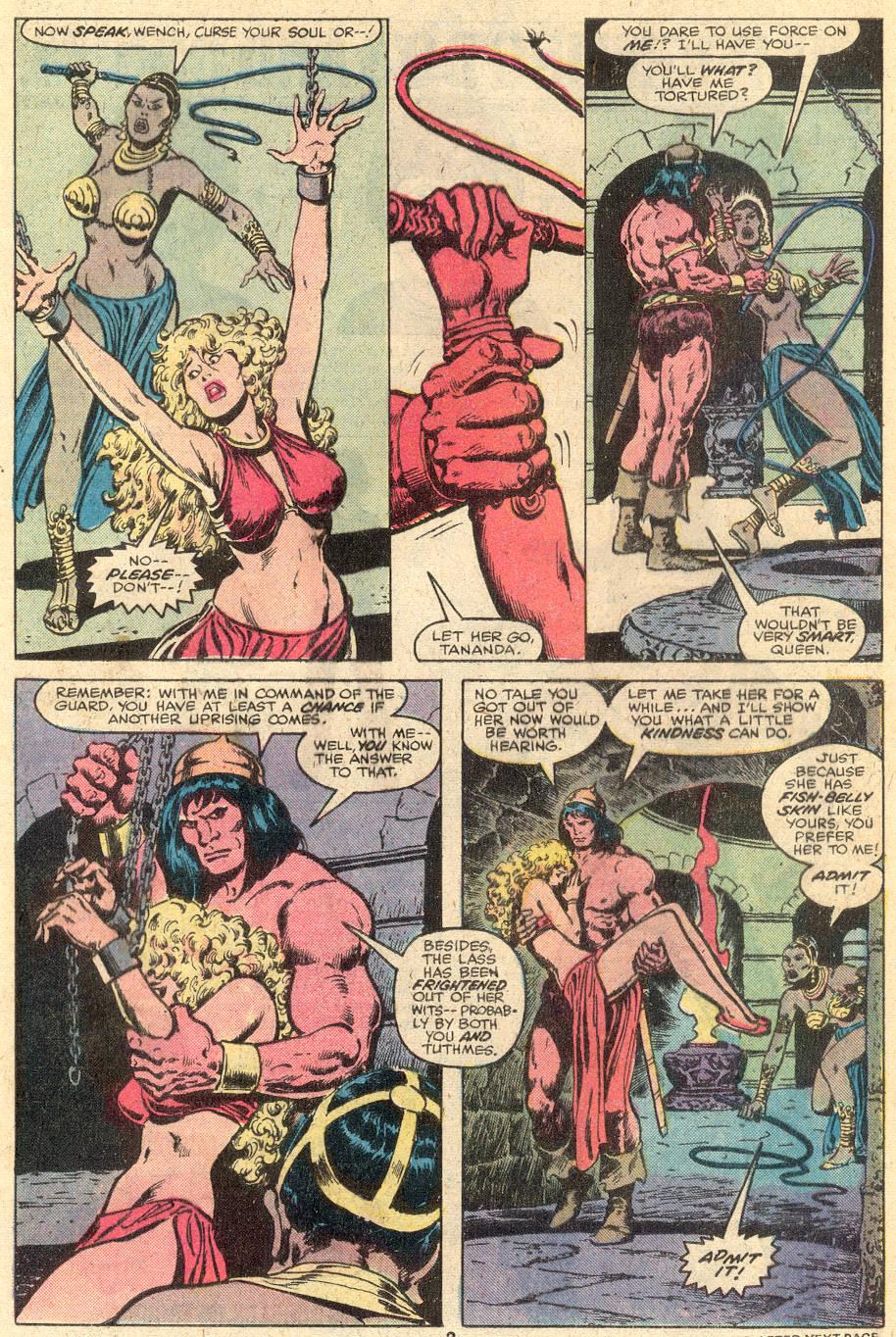 Conan the Barbarian (1970) Issue #107 #119 - English 4