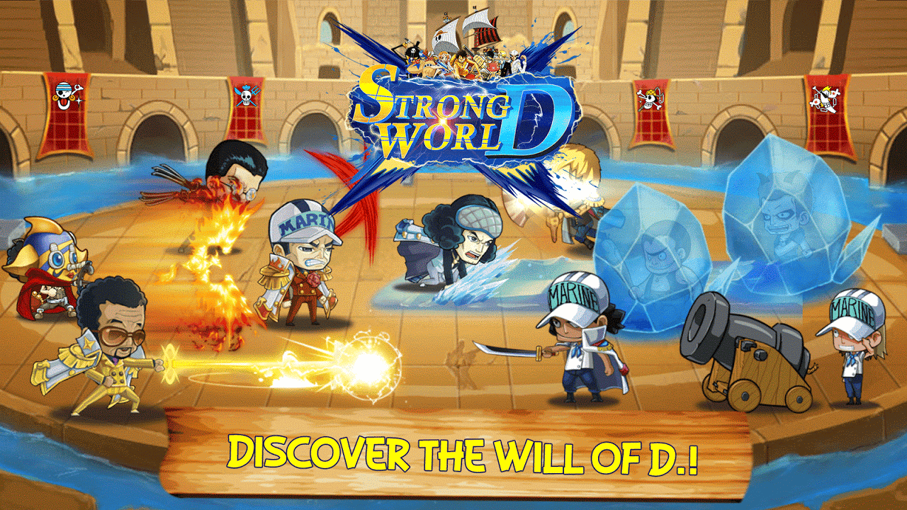 Strong World D Gameplay IOS / Android