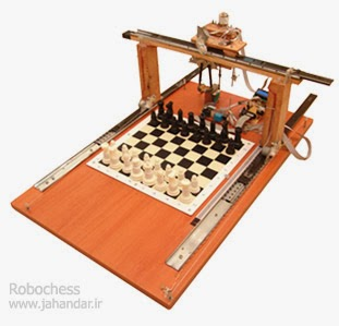 robô que joga xadrez