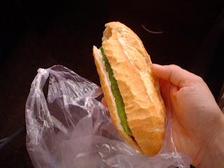 Pan vietnamien. sandwich vietnamien