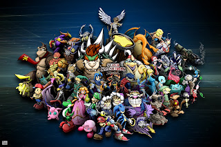 Super Smash Bross Animated Cartoon HD Wallpaper