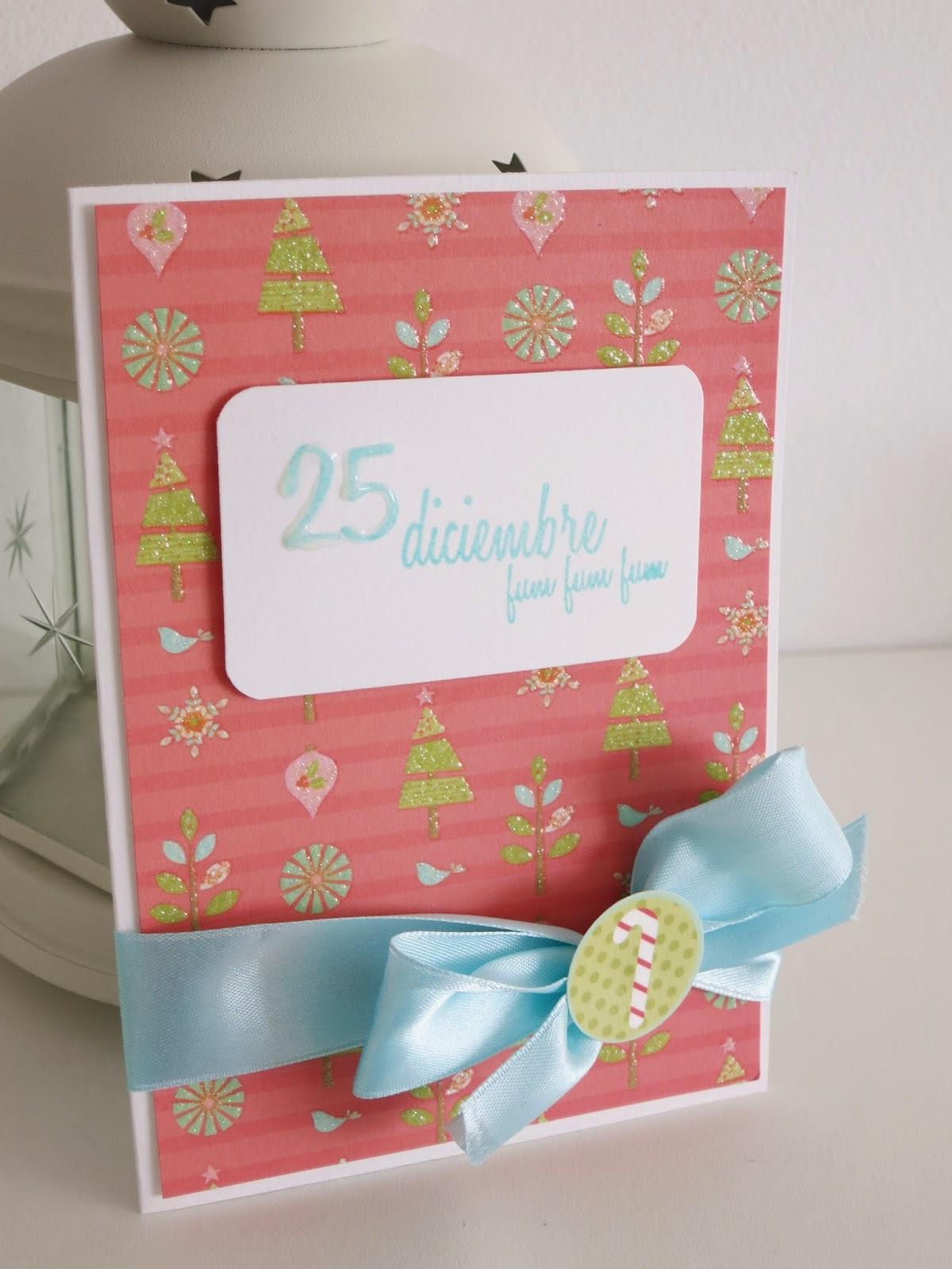 La caixa de scrap tarjeta navide a infantil for Seguro hogar la caixa
