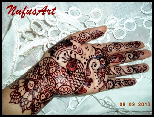 Mehndi Simple Kaki : Henna designs kaki makedes