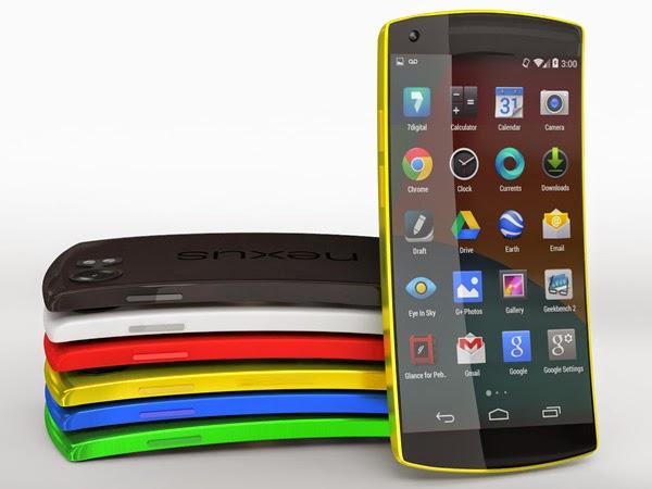 Rumor Pilihan Warna Nexus 6