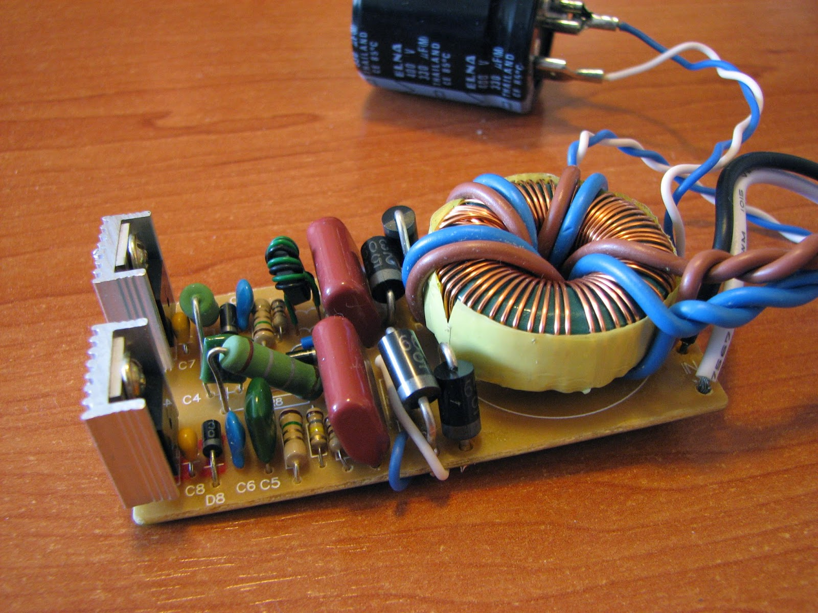 Rh Amplifiers Wave Rectifier Circuit For Tube Amp Tubeamplifier Audiocircuit A Modification Of The Output Transformer Ferrite Core Usually Toroid Is Necessary Lowering Number Turns In Secondary Winding