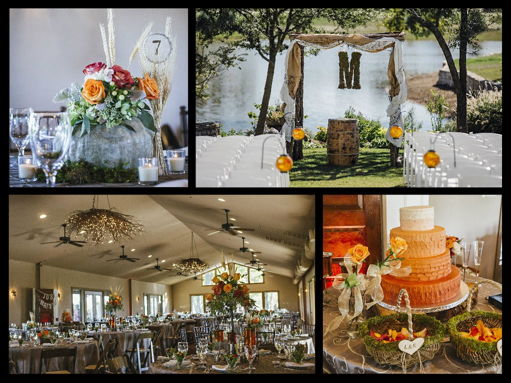 Rustic Chic Wedding Decor, Fall Wedding Flowers, Lukens Martin Wedding