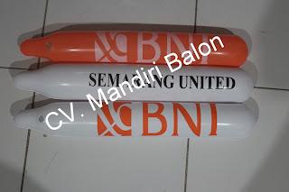 BALON TEPUK Logo BANK BNI SEMARANG