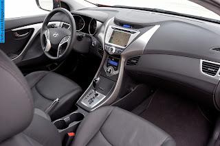 Hyundai elantra car 2013 interior - صور سيارة هيونداى النترا 2013 من الداخل