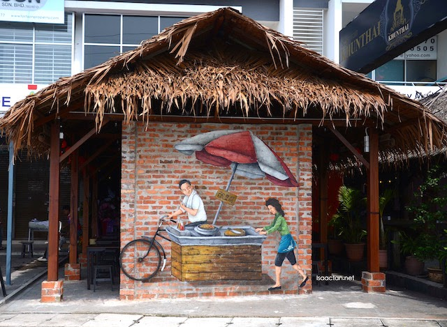 Old Tricycle Charcoal BBQ Yong Tau Foo @ Aman Puri, Kepong