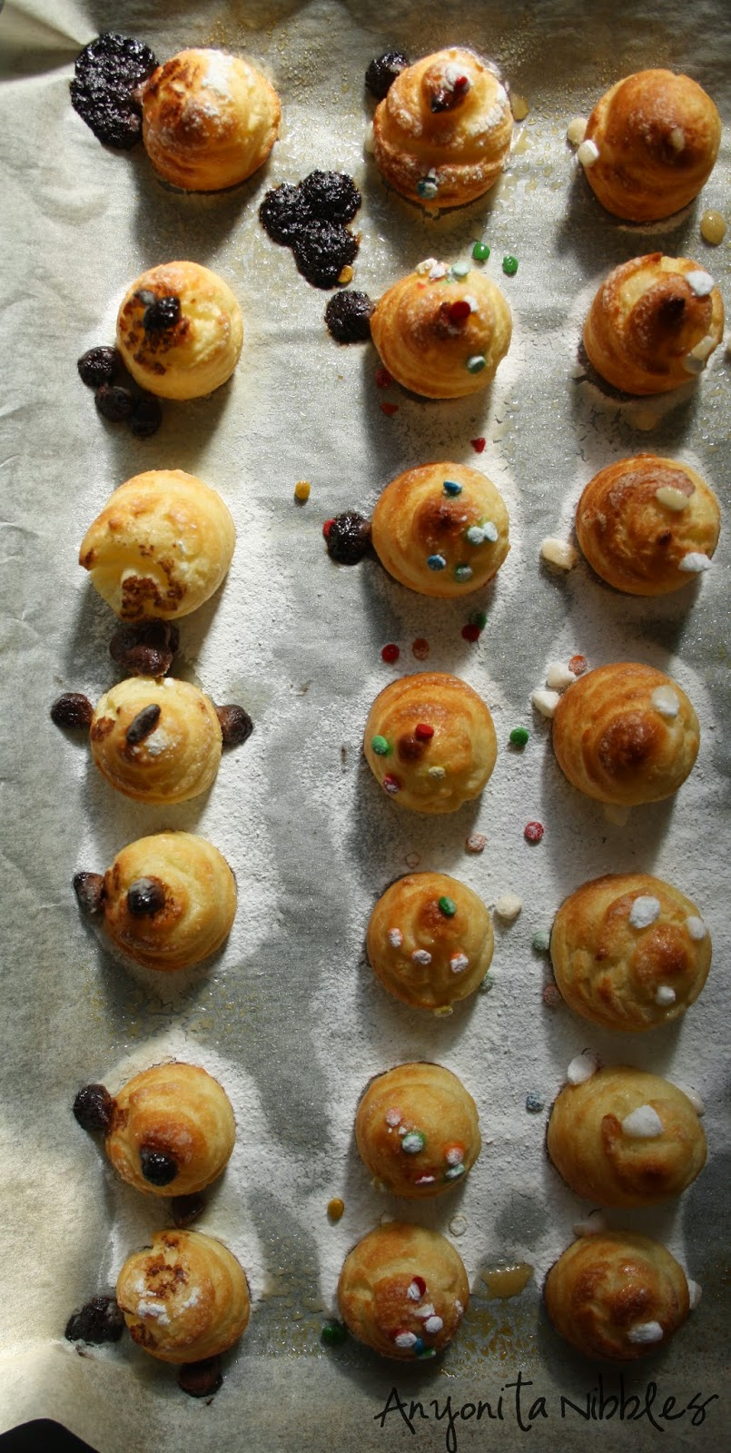 You can get stunning results from making your own gluten free pate a choux. From Anyonita Nibbles