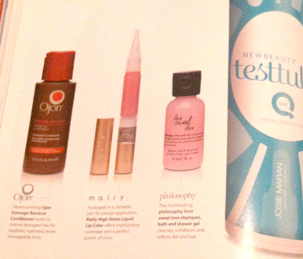 QVC New Beauty Test Tube Box - August 2012 - Ships Soon!