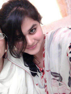 Pakistani girl with her mother