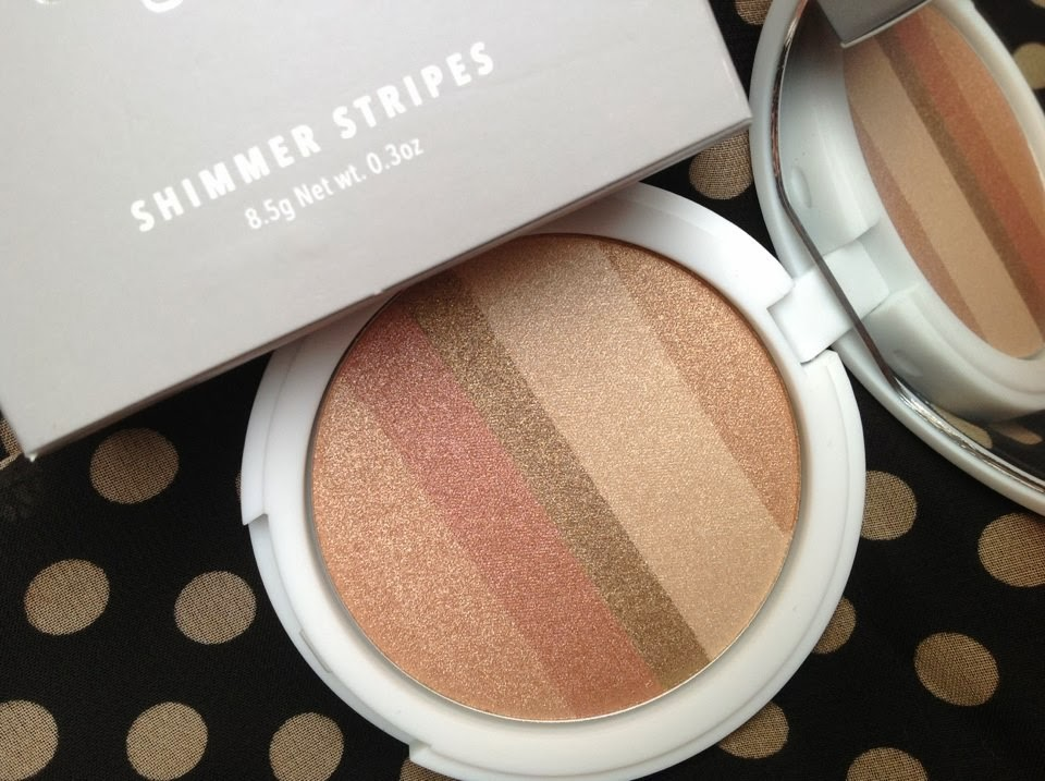 Lily Lolo Shimmer Stripes Honey Glow