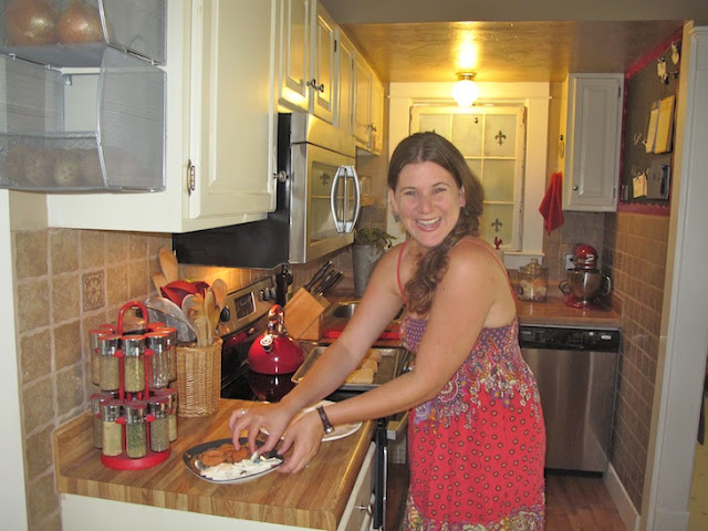 nwafoodie Beth Stephans The Food Adventuress kitchen tour