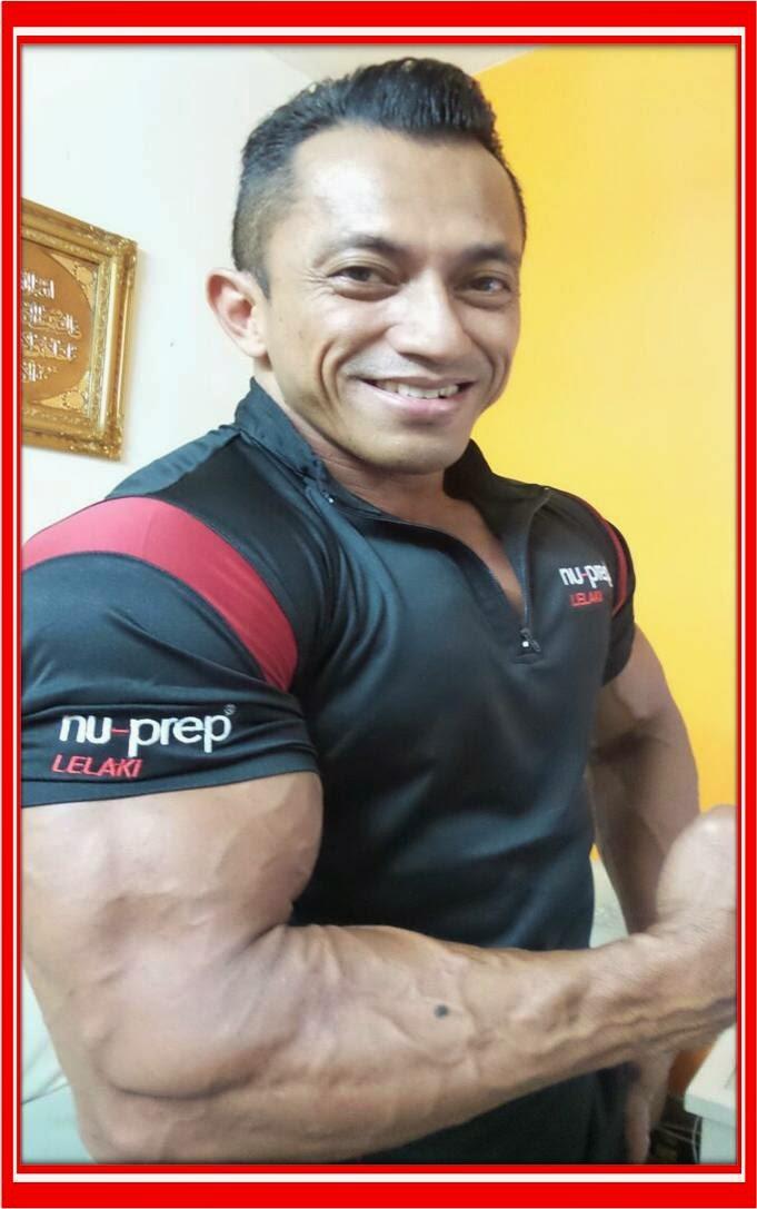 Mr Universe Sazali Samad MALAYSIA BOLEH