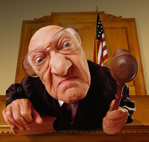 Mean Old Judge