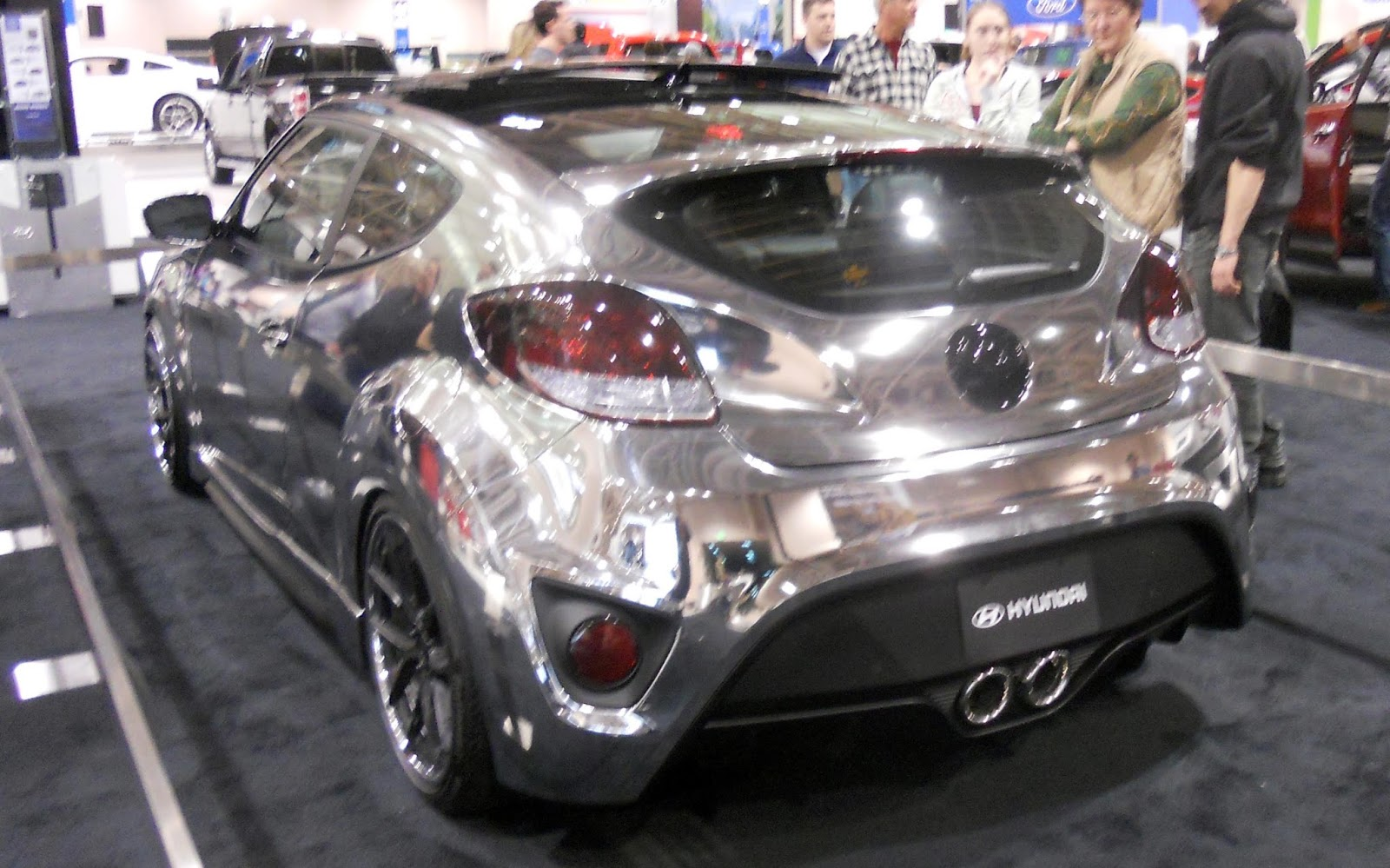 Automozeal Hyundai Veloster A Car At The Forefront Of
