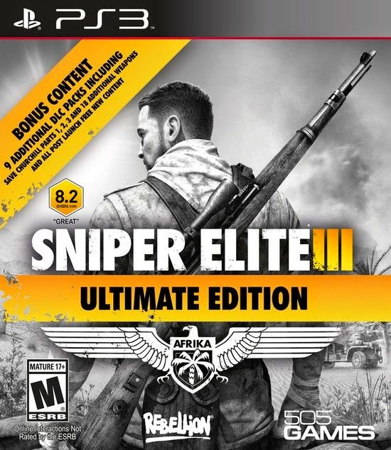 Download Sniper Elite III Ultimate Edition Torrent PS3 2015