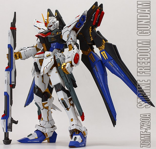 GUNDAM GUY: MG 1/100 Strike Freedom - Customized Build
