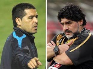 """Maradona: """"Riquelme traicionó a Boca Juniors"""""""