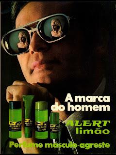 propaganda Alert limão - 1970. Os anos 70.