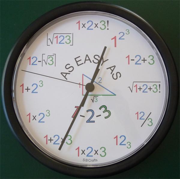 Amazing Mathematical Clock Facts Pod