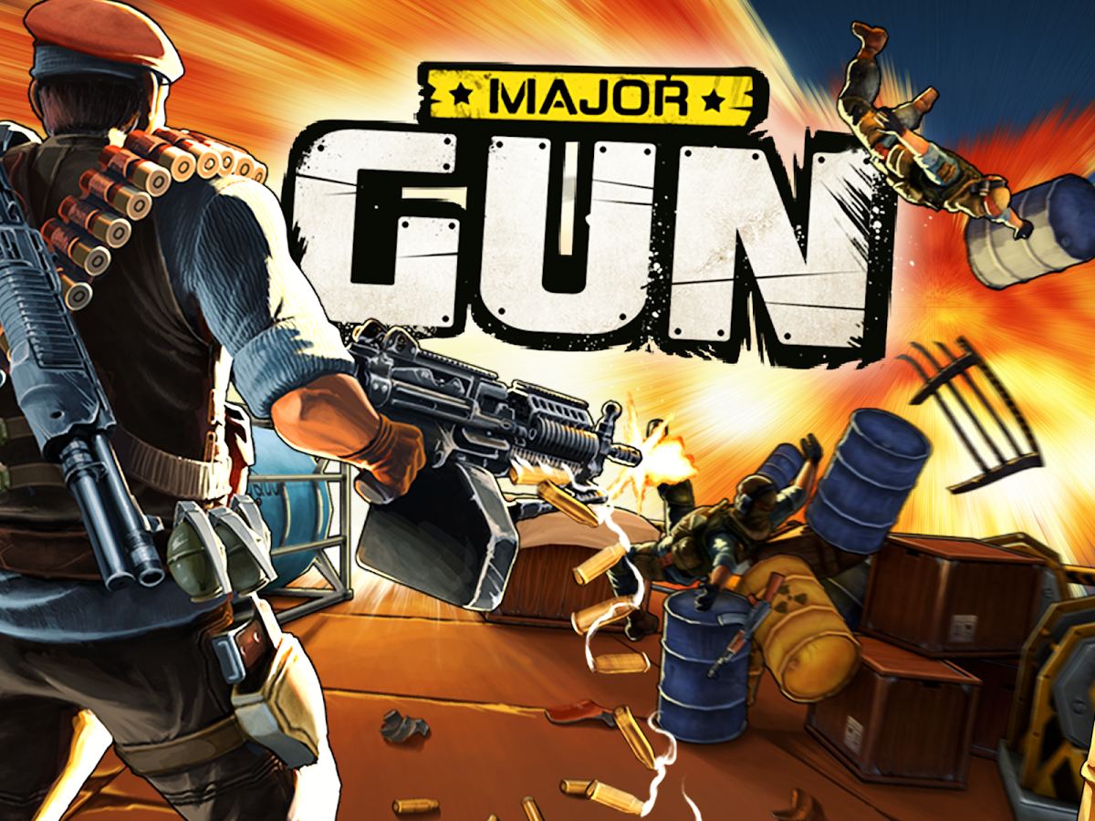 Major Gun 3.2 MOD APK Unlimited Money