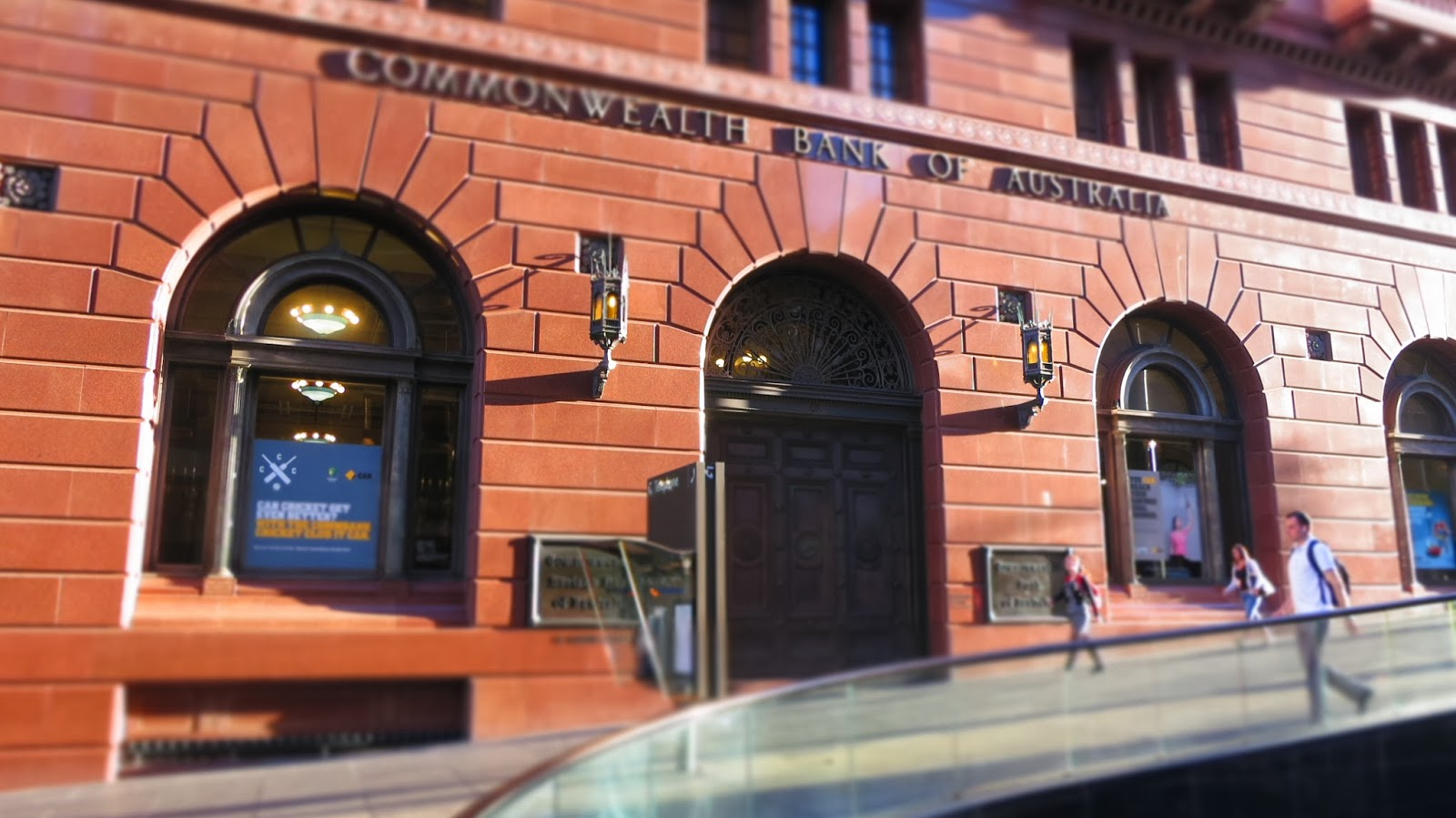 Commonwealth Bank Building In Martin Place