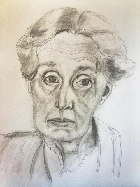 Sketch a day, mixed media Galia Alena