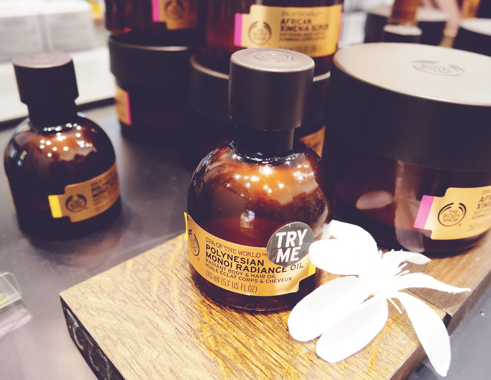 The Body Shop Leicester Spa of the World