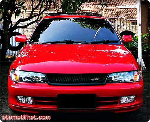 Toyota Great Corolla Modikasi - Red Sporty