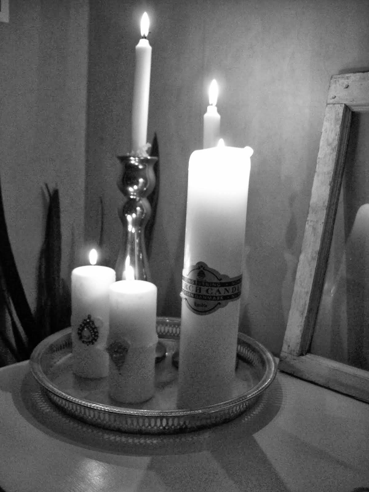 Älskar ljus...